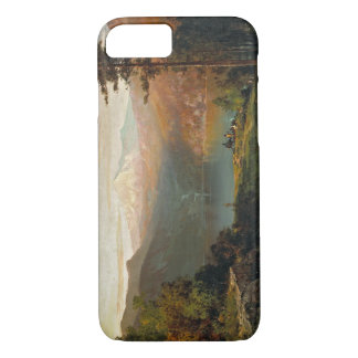 Thomas Hill - Indian by a Lake in a Majestic iPhone 7 Case