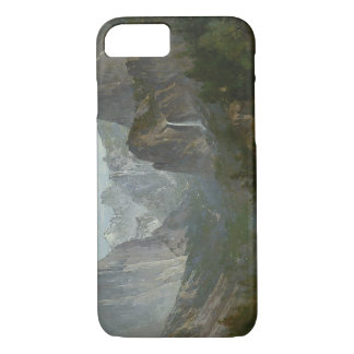 Thomas Hill - Indians at Campfire, Yosemite Valley iPhone 8/7 Case