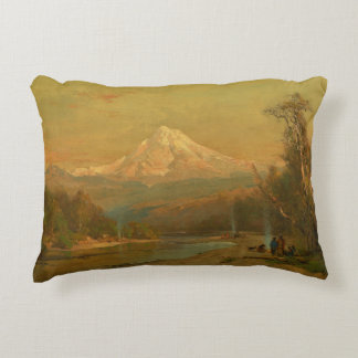 Thomas Hill - Indians of the Northwest Accent Pillow