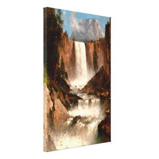 Thomas Hill's Vernal Falls, Yosemite Canvas Print