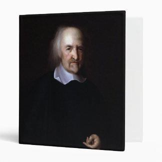 Thomas Hobbes by John Michael Wright Vinyl Binders