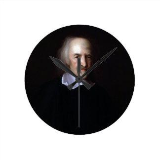 Thomas Hobbes by John Michael Wright Round Clock