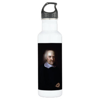 Thomas Hobbes by John Michael Wright Stainless Steel Water Bottle