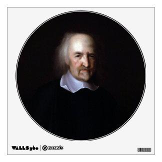 Thomas Hobbes by John Michael Wright Wall Decal