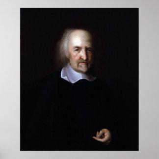 Thomas Hobbes de Juan Michael Wright Póster