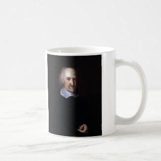 Thomas Hobbes de Juan Michael Wright Taza Básica Blanca