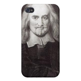 Thomas Hobbes de la 'galería de los retratos iPhone 4 Fundas