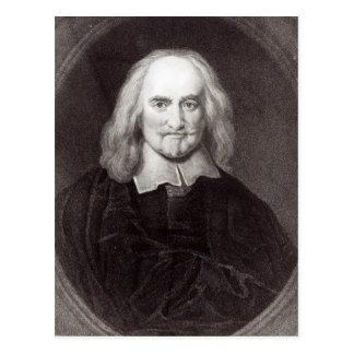 Thomas Hobbes de la 'galería de los retratos Tarjeta Postal