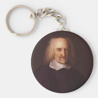 Thomas Hobbes de Malmesbury de Juan Michael Wright Llavero Redondo Tipo Pin