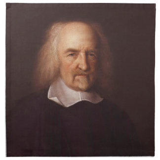 Thomas Hobbes de Malmesbury de Juan Michael Wright Servilleta