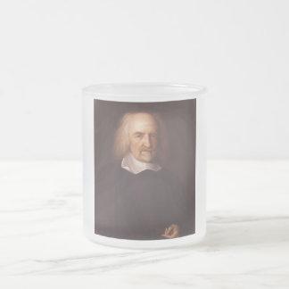 Thomas Hobbes de Malmesbury de Juan Michael Wright Taza Cristal Mate