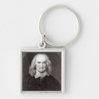 Thomas Hobbes  from 'Gallery of Portraits' Keychains