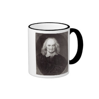 Thomas Hobbes  from 'Gallery of Portraits' Coffee Mug