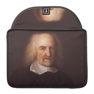 Thomas Hobbes of Malmesbury by John Michael Wright Sleeve For MacBooks
