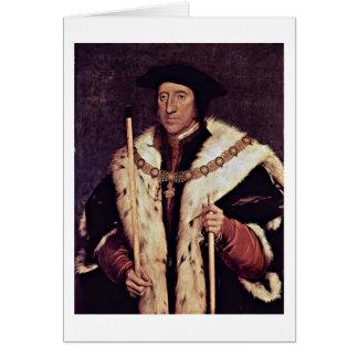 Thomas Howard de Hans Holbein el más joven Tarjeta De Felicitación