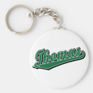 Thomas in Green Keychain