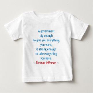 Thomas Jefferson #1 Baby T-Shirt