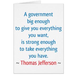Thomas Jefferson #1 Card