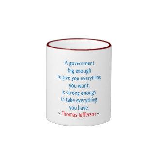 Thomas Jefferson #1 Coffee Mugs