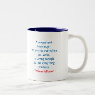 Thomas Jefferson #1 Mugs