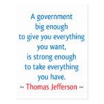 Thomas Jefferson #1 Postales