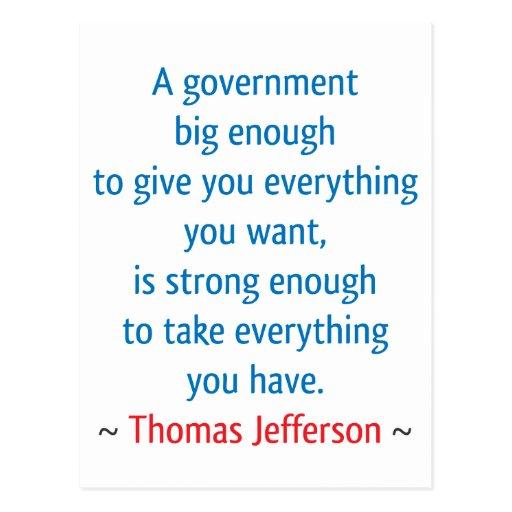 Thomas Jefferson #1 Postcard