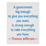 Thomas Jefferson #1 Poster