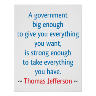 Thomas Jefferson #1 Póster