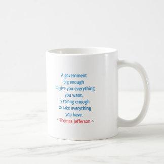 Thomas Jefferson #1 Taza Clásica
