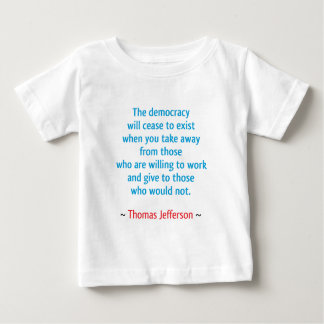 Thomas Jefferson #2 Baby T-Shirt