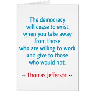 Thomas Jefferson #2 Card