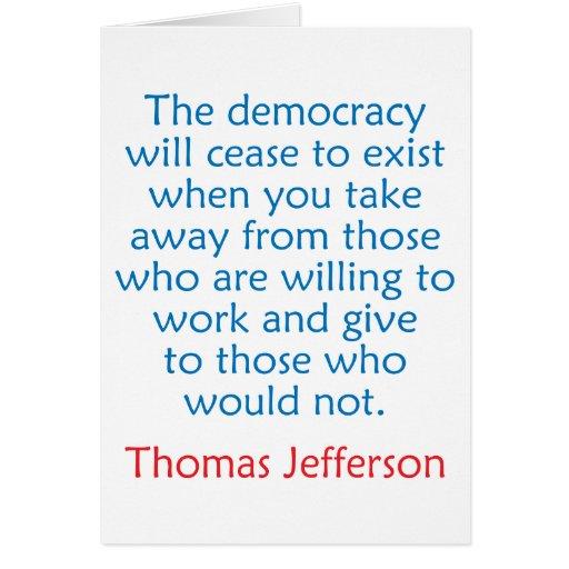 Thomas Jefferson #2 Cards