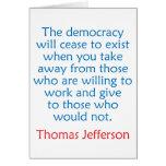 Thomas Jefferson #2 Felicitaciones