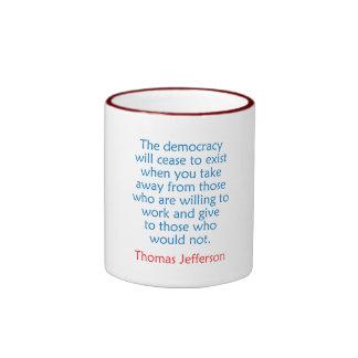 Thomas Jefferson #2 Mugs