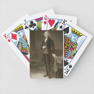 Thomas Jefferson, 3rd President of the United Stat Bicycle Playing Cards