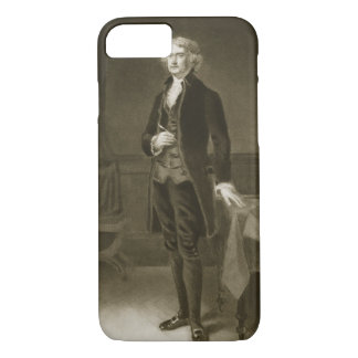 Thomas Jefferson, 3rd President of the United Stat iPhone 8/7 Case