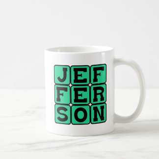 Thomas Jefferson, American President Coffee Mug