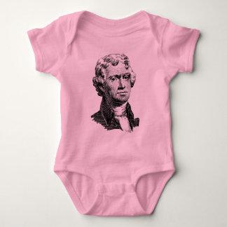 Thomas Jefferson Baby Bodysuit