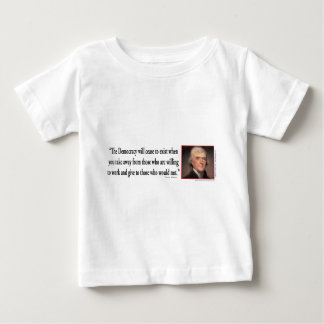 Thomas Jefferson Baby T-Shirt