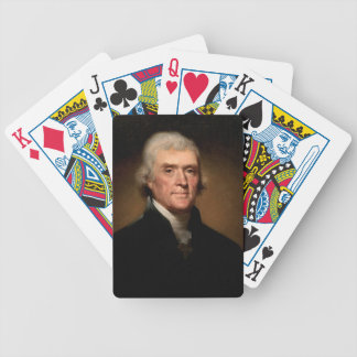 Thomas Jefferson Bicycle Playing Cards