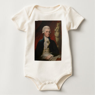 Thomas Jefferson by Mather Brown (1786) Baby Bodysuit