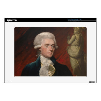 "Thomas Jefferson by Mather Brown (1786) Decal For 15"" Laptop"