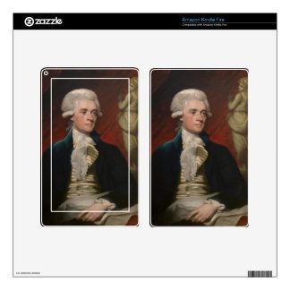 Thomas Jefferson by Mather Brown (1786) Kindle Fire Decals