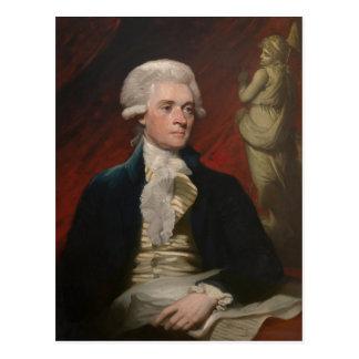 Thomas Jefferson by Mather Brown (1786) Postcard
