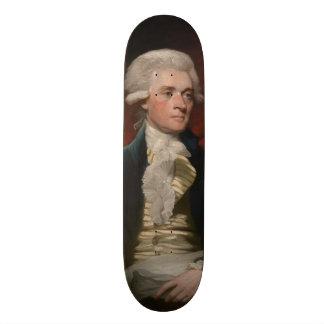 Thomas Jefferson by Mather Brown (1786) Skateboard Deck
