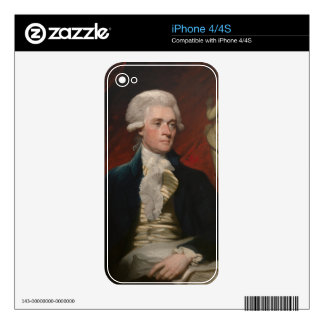 Thomas Jefferson by Mather Brown (1786) Skin For The iPhone 4S