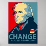Thomas Jefferson Change Poster