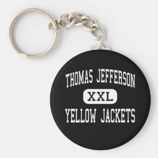 Thomas Jefferson - chaquetas amarillas - pen¢ascos Llavero Redondo Tipo Pin