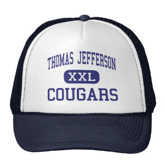Thomas Jefferson Cougars Middle Wasco Trucker Hat
