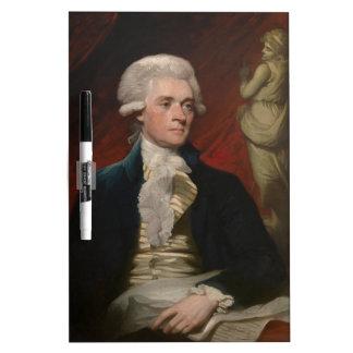 Thomas Jefferson de Mather Brown (1786) Tableros Blancos